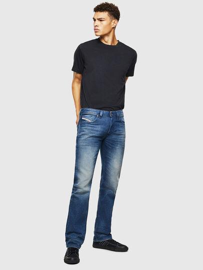 Diesel - Larkee 0090D, Medium Blue - Jeans - Image 6
