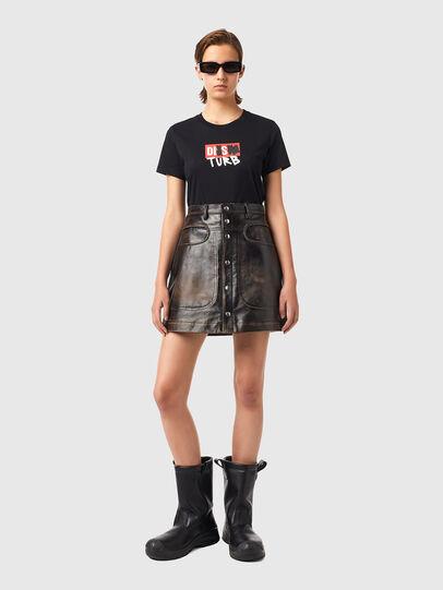 Diesel - L-LIA, Black - Skirts - Image 4