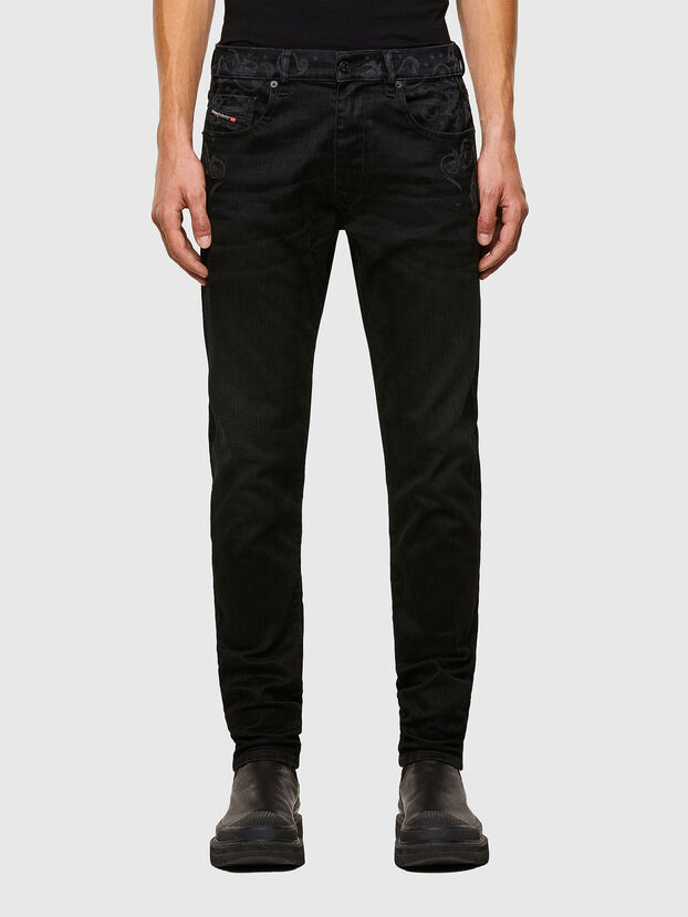 D-Strukt 009KT, Black/Dark Grey - Jeans