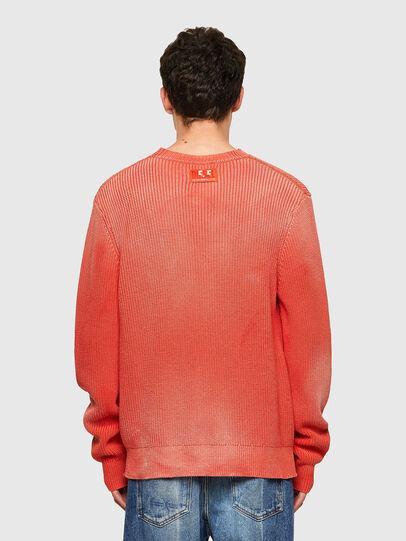 Diesel - K-KENTUCKY, Orange - Sweaters - Image 2