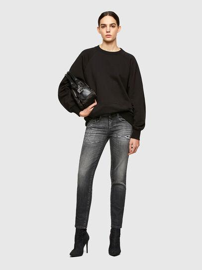 Diesel - D-Ollies JoggJeans® 009QT, Noir/Gris foncé - Jeans - Image 5