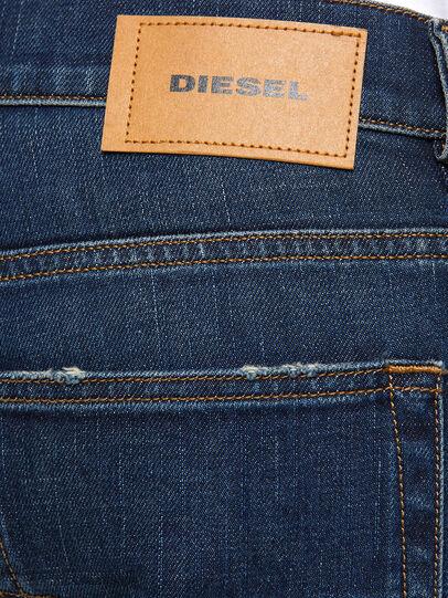Diesel - D-Luster 009EL, Dark Blue - Jeans - Image 3