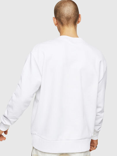 Diesel - S-BAY-COPY, Blanc - Pull Cotton - Image 2
