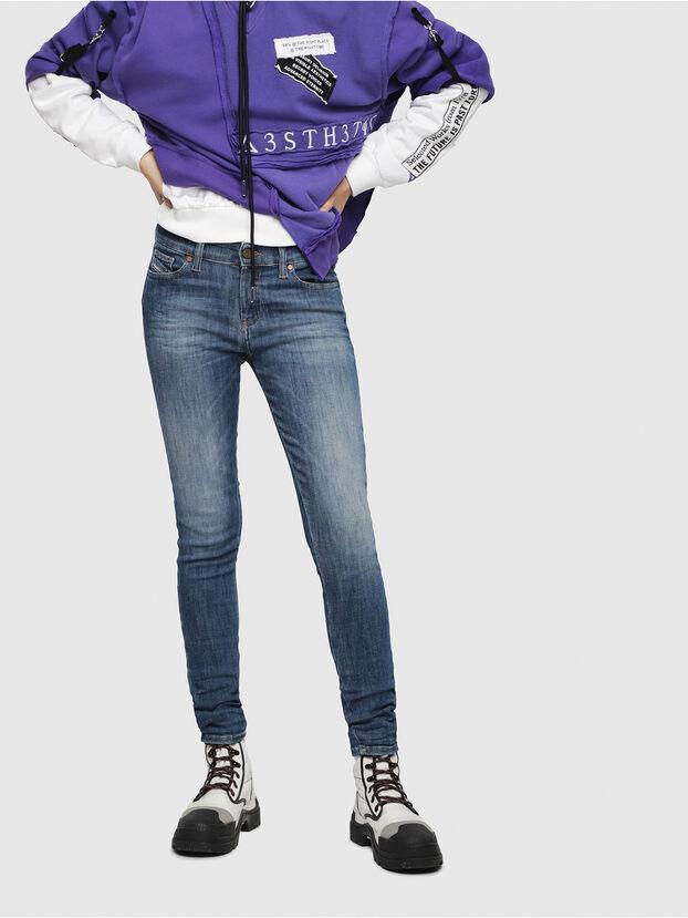 Slandy 088AV, Bleu moyen - Jeans