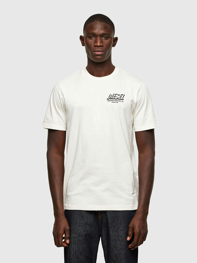 Diesel - T-JUST-A33, Blanc - T-Shirts - Image 1