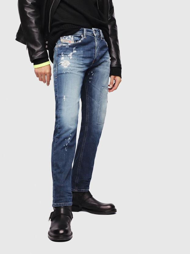 Thommer JoggJeans 087AK, Bleu Foncé - Jeans