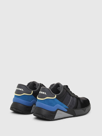 Diesel - S-BRENTHA FLOW, Black/Blue - Sneakers - Image 3