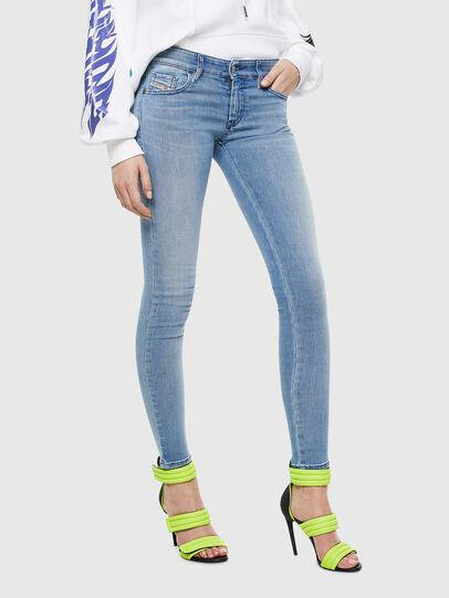 Diesel - Slandy Low 0096L, Bleu Clair - Jeans - Image 1