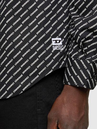 Diesel - S-RILEY-KA-B, Black - Shirts - Image 4