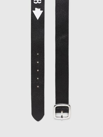Diesel - B-CRASEL, Black - Belts - Image 4