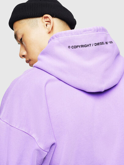 Diesel - S-ALBY-FLUO, Lilas - Pull Cotton - Image 7