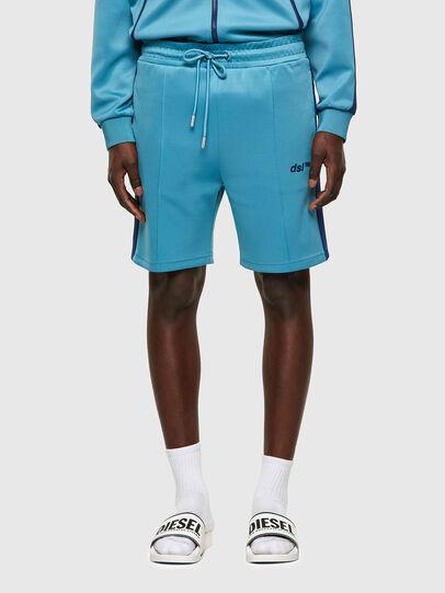 Diesel - P-KURLY, Bleu Clair - Shorts - Image 1