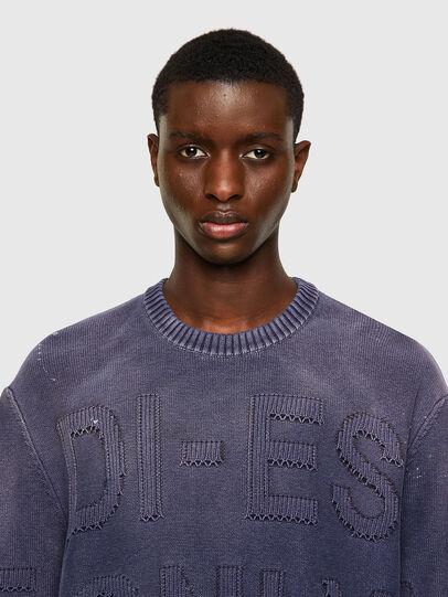 Diesel - K-NORTHERN, Blue - Sweaters - Image 4