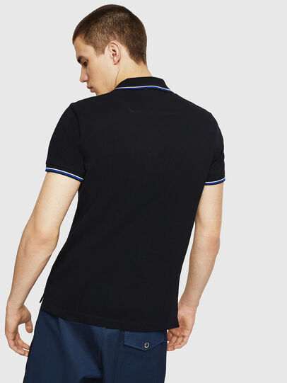 Diesel - T-RANDY-NEW, Blue - Polos - Image 2