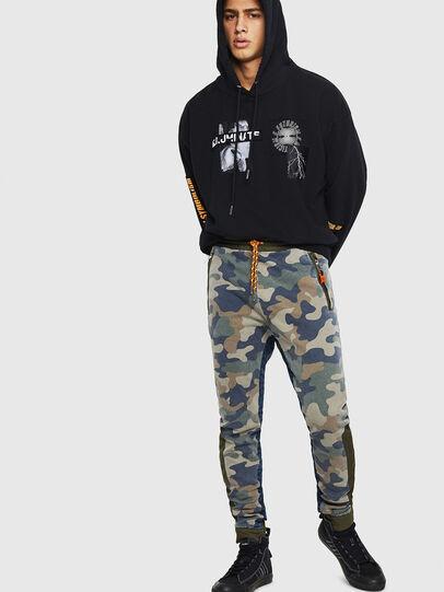 Diesel - D-Eeley JoggJeans 0GAUU, Vert Camouflage - Jeans - Image 6