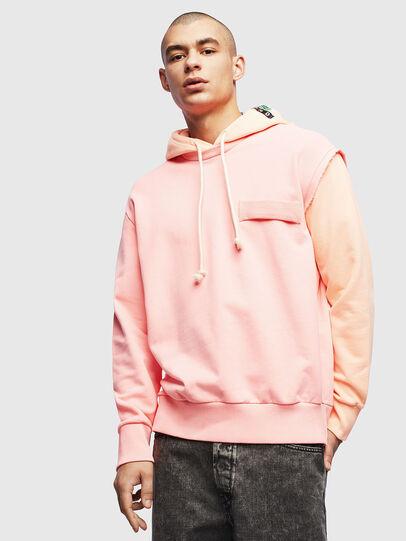 Diesel - S-CRAZY, Pink - Sweatshirts - Image 1