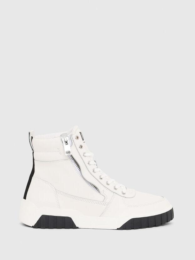 S-RUA MID, Blanc - Baskets