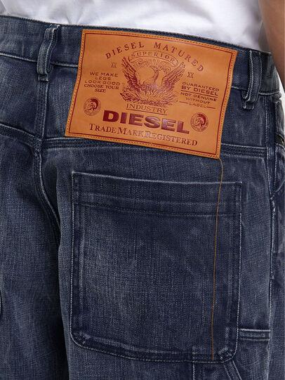 Diesel - D-Franky 009IY, Bleu Foncé - Jeans - Image 5