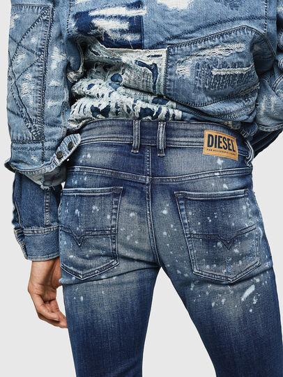 Diesel - Sleenker 0091Y, Bleu moyen - Jeans - Image 5