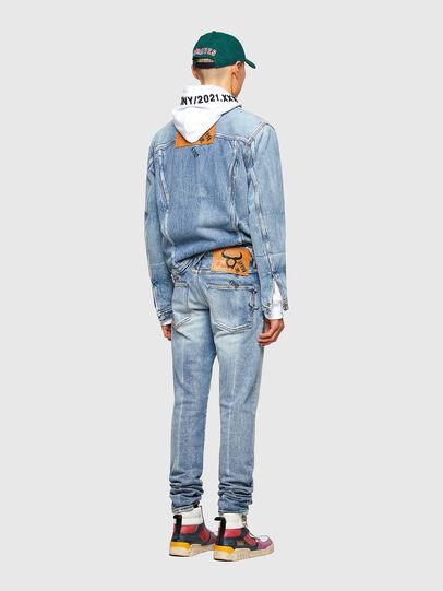 Diesel - D-Kras 009VW, Bleu Clair - Jeans - Image 7