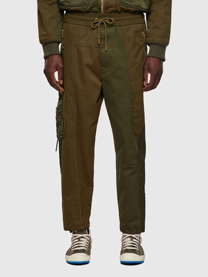 Diesel - P-BRIGGS, Vert Militaire - Pantalons - Image 1