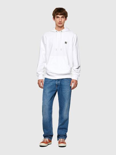 Diesel - S-GIRK-HOOD-K21, White - Sweatshirts - Image 4