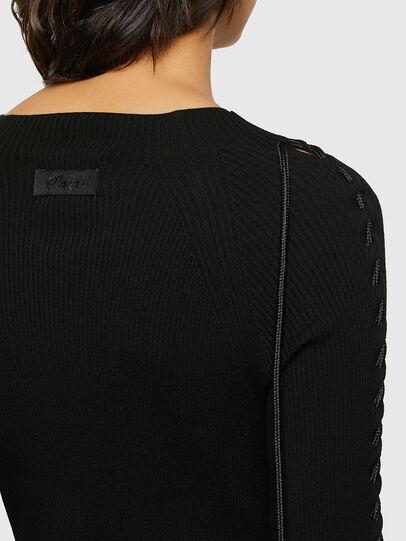 Diesel - M-JILL, Noir - Robes - Image 4