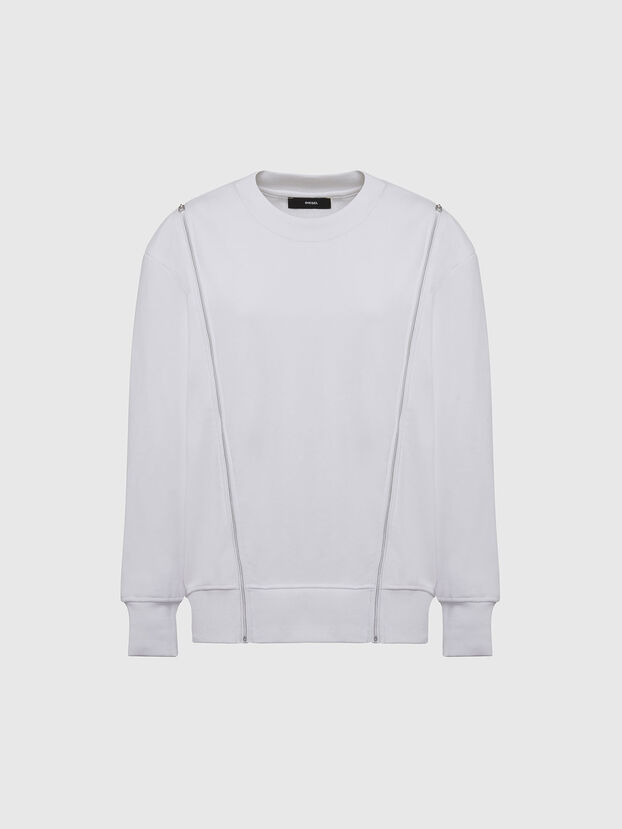 F-GEORGIA, Blanc - Pull Cotton