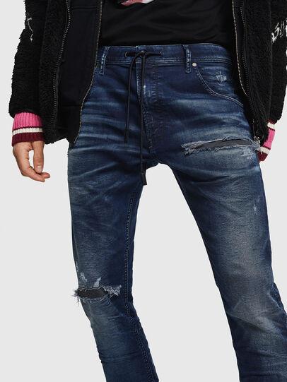 Diesel - Krooley JoggJeans 069JE, Bleu Foncé - Jeans - Image 4