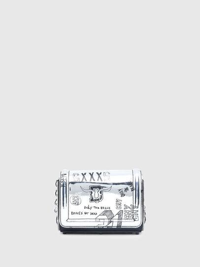 Diesel - CL - YBYS S CNY, Gris argenté - Sacs en bandoulière - Image 1