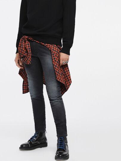 Diesel - Thommer JoggJeans 084XJ, Black/Dark Grey - Jeans - Image 1