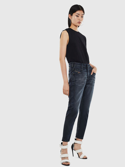Diesel - Fayza JoggJeans 069MD, Bleu Foncé - Jeans - Image 6