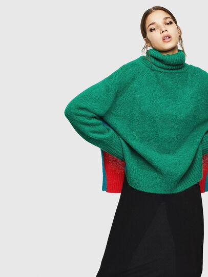 Diesel - M-PERSIA, Green/Red - Sweaters - Image 5