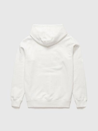 Diesel - DxD-21, White - Sweatshirts - Image 2