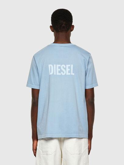 Diesel - T-JUBINDY, Bleu Clair - T-Shirts - Image 2