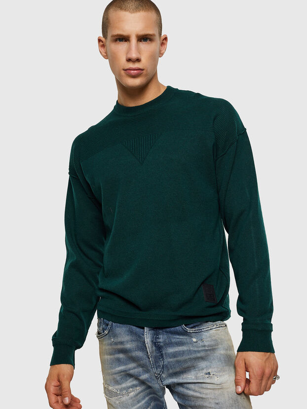K-LETO, Dark Green - Sweaters