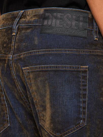 Diesel - Fayza 069RQ, Bleu/Jaune - Jeans - Image 5