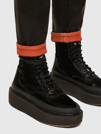 Diesel - FAYZA JoggJeans® 069PG, Noir/Orange - Jeans - Image 5