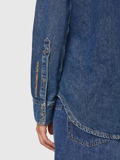 Diesel - DE-RINGY, Bleu Foncé - Chemises en Denim - Image 4