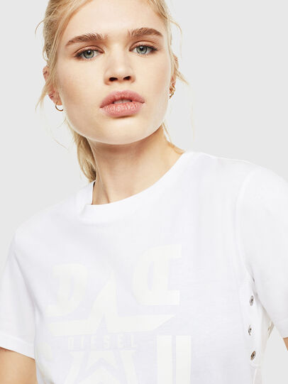 Diesel - T-SILY-WMA, Blanc - T-Shirts - Image 3