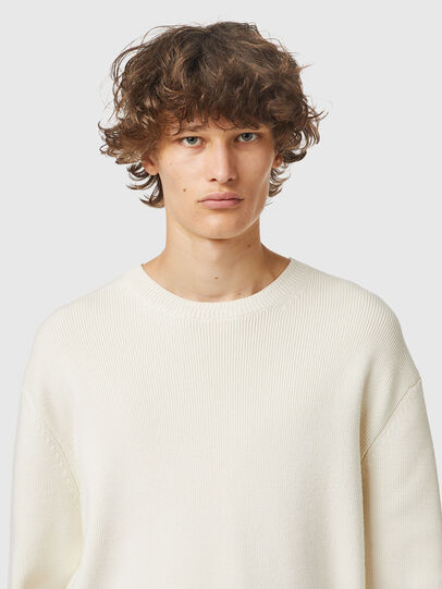 Diesel - K-ATHENS, White - Sweaters - Image 3
