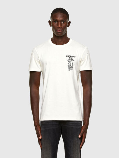 Diesel - T-DORYMO-A1, Blanc - T-Shirts - Image 1