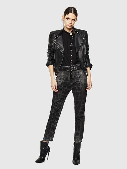 Diesel - Fayza JoggJeans 0094M, Noir/Gris foncé - Jeans - Image 7