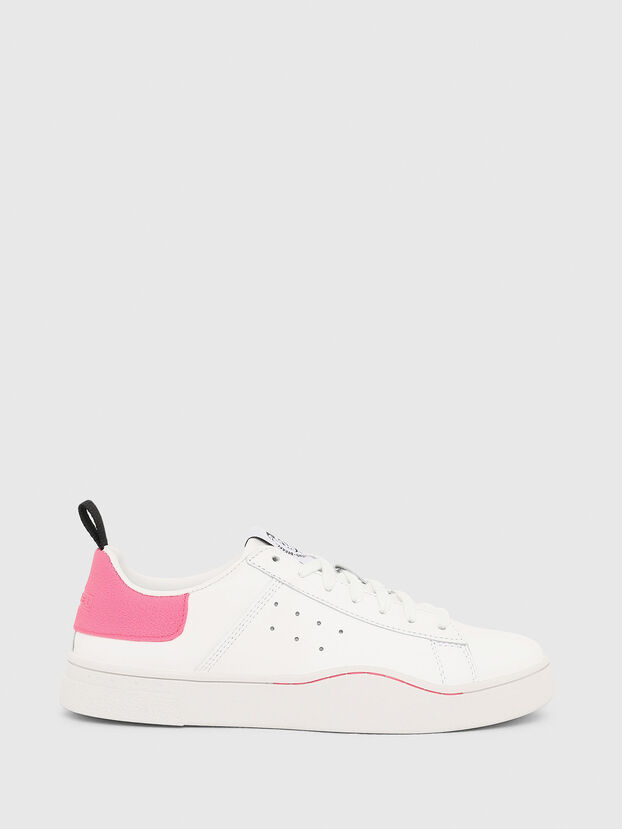 S-CLEVER LOW W, Blanc/Rose - Baskets