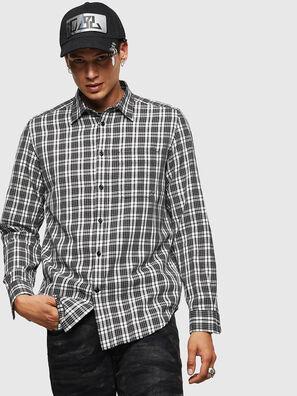 S-TROPP, Blanc/Noir - Chemises