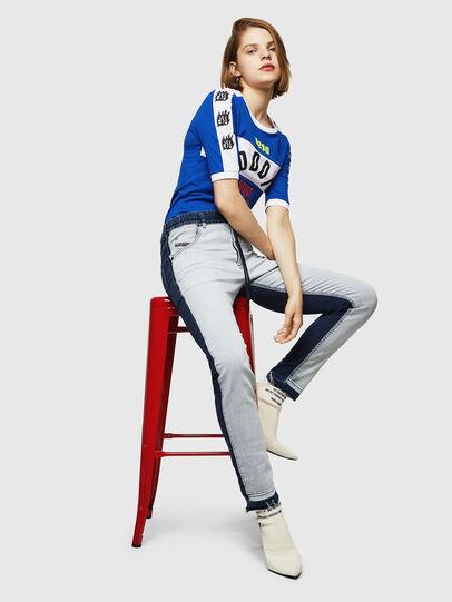 Diesel - Krailey JoggJeans 0870R, Bleu moyen - Jeans - Image 5