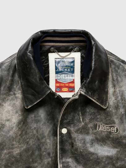 Diesel - DxD-2, Black - Leather jackets - Image 3