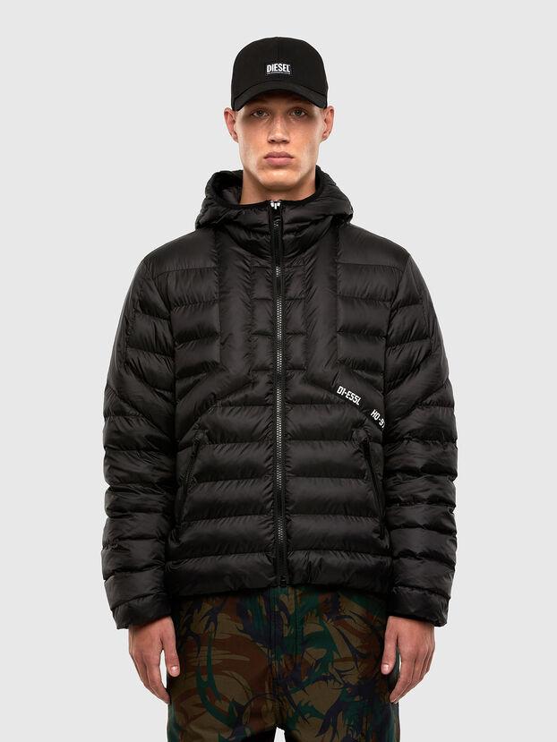 W-DWAIN, Noir - Vestes d'hiver
