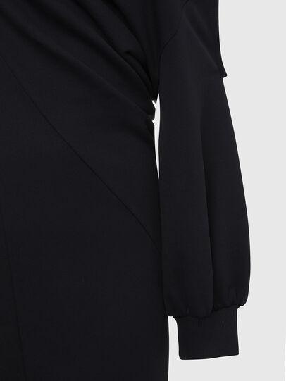 Diesel - D-REVERT, Noir - Robes - Image 5