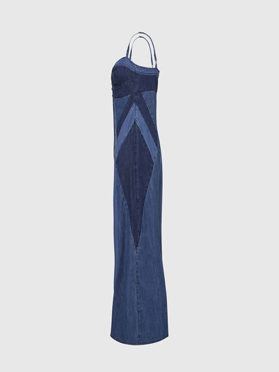 Diesel - DE-ARYNA, Bleu Clair - Robes - Image 3